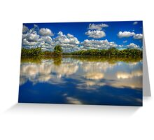 Mirrored..  Greeting Card
