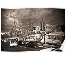 Melbounrne Skyline Poster