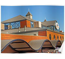 Dolphin Qay Roof Poster