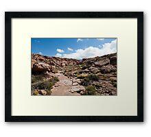 Nacimiento Highlands - Atacama Desert - Chile Framed Print