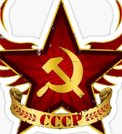CCCP Army Sticker