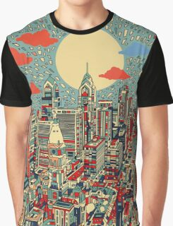 philadelphia panorama 3 Graphic T-Shirt