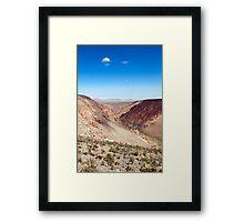 Nacimiento Creek - Atacama Desert - Chile Framed Print
