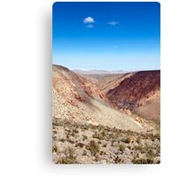 Nacimiento Creek - Atacama Desert - Chile Canvas Print