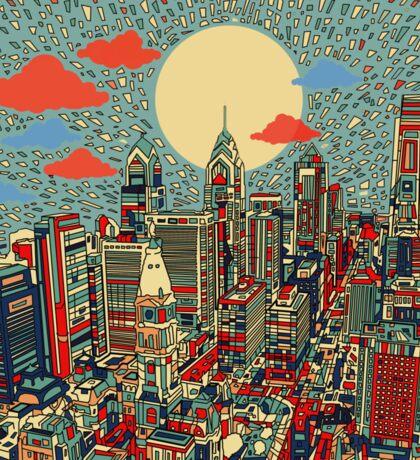 philadelphia panorama 3 Sticker