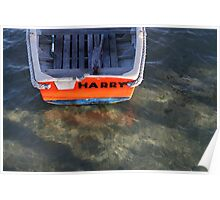 a boat named Harry Poster