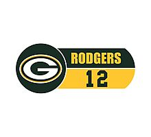 Packers Rodgers Photographic Print
