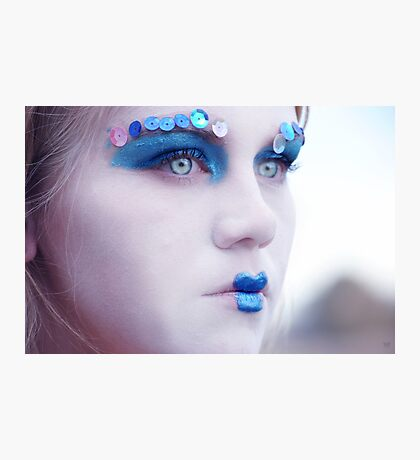 Dull Beauty Photographic Print