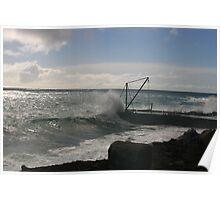 Cascade Pier, Norfolk Island Poster