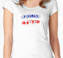 ABOLISH the IRS Women's Fitted Scoop T-Shirt