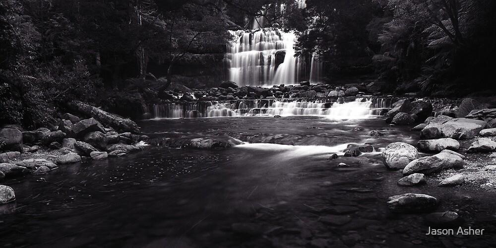 """Lower Liffey Falls"" ∞ Liffey, Tasmania - Australia by Jason Asher"