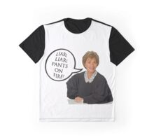 Liar!Liar! Pants on Fire! Graphic T-Shirt