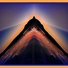 Flight of the Pyramid by Bathyscath