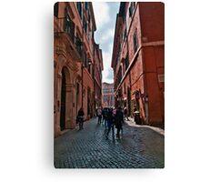 ROME - STREETSCAPE (1)  Canvas Print