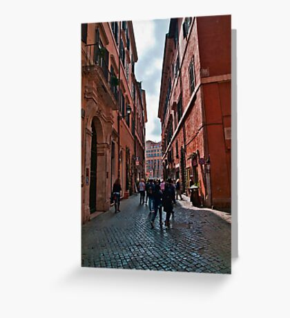ROME - STREETSCAPE (1)  Greeting Card