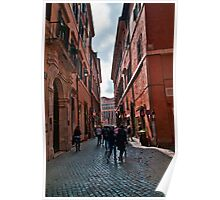 ROME - STREETSCAPE (1)  Poster