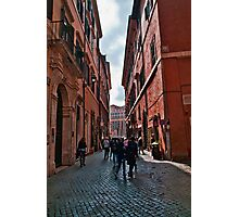 ROME - STREETSCAPE (1)  Photographic Print