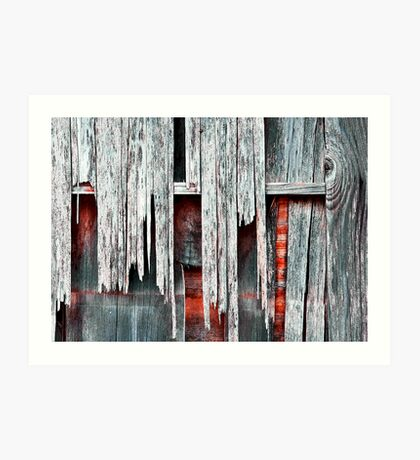 Weathered Art Print