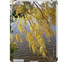 Overhanging  Willow leaves iPad Case/Skin