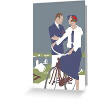 'The Bicycle' Greeting Card or Small Print Greeting Card