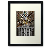 Trinity and the Shrine Framed Print