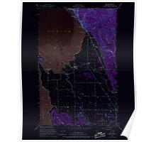 USGS Topo Map Washington State WA Bow 240179 1954 24000 Inverted Poster