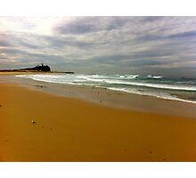 Newcastle. Nobby's Beach. Australia Photographic Print