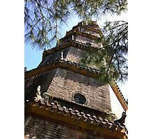 1800's Vietnamese Tower. Photographic Print
