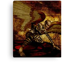 Cyber Angel: The Second Coming Canvas Print