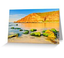 wild beauty of sunrise Greeting Card