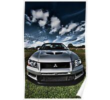 Mitsubishi Lancer Evolution 7 Poster