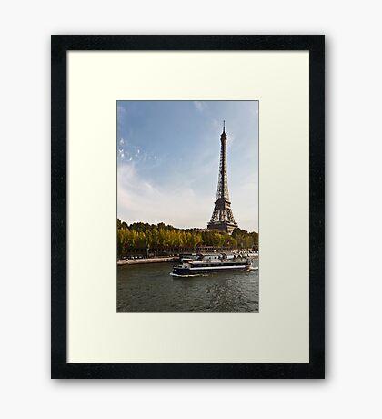 Trip in Paris Framed Print