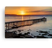 """Sunrise at Point Lonsdale"" Canvas Print"
