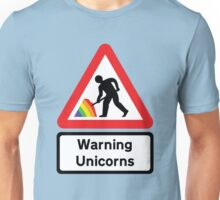 Warning: Unicorn Poo Unisex T-Shirt