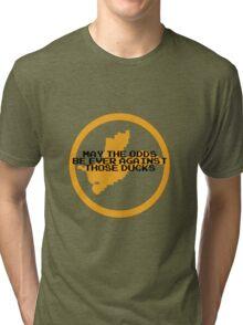 Hunger Games / Duck Hunt Tri-blend T-Shirt