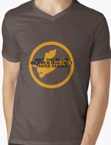 Hunger Games / Duck Hunt Mens V-Neck T-Shirt