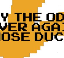 Hunger Games / Duck Hunt Sticker