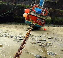 Boat Chained by Mjay