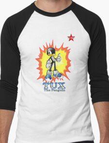I.T HERO - TuxSonic Men's Baseball ¾ T-Shirt