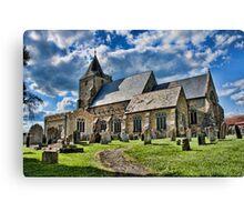 St Mary Ticehurst Canvas Print