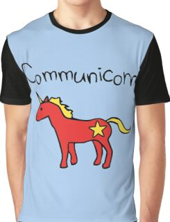 Communicorn (Communist Unicorn) Graphic T-Shirt