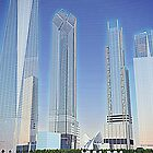 New World Trade Center rendering by LakePark