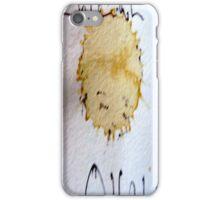 Little coffee/tear drop. iPhone Case/Skin