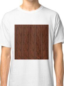 Brown Knit Classic T-Shirt