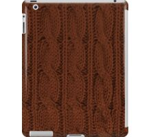Brown Knit iPad Case/Skin