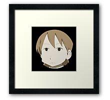 Yuuko is not amused Framed Print