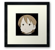 Yuuko is not amused Framed Print