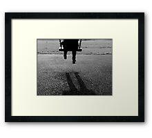 Swing. Framed Print