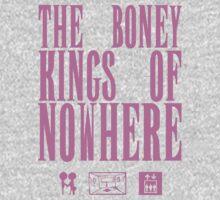 The Boney Kings of Nowhere -Pink Kids Tee