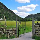 Wales, An open gate in Beddgelert by 29Breizh33